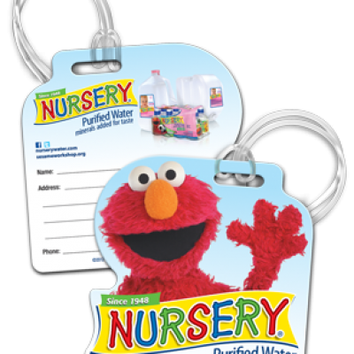 Free Elmo Nursery Bag Tag - 400 Daily at 12PM (Noon)