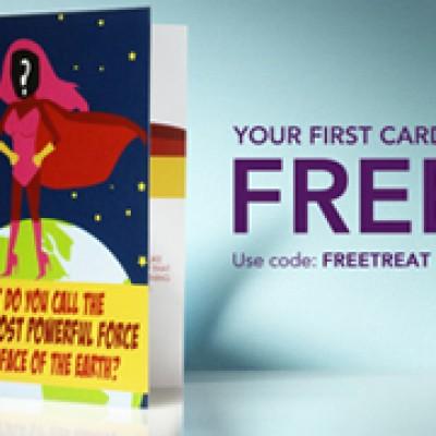 Free Treat Greeting Card