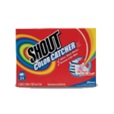 Free Sample Shout Color Catcher