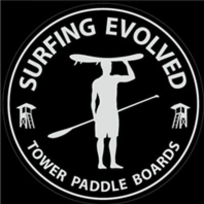 Free Surfing Evolved Sticker