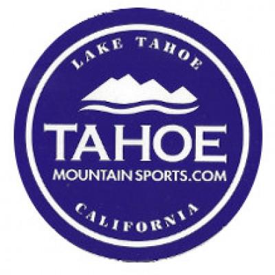 Free Tahoe Mountain Sports Sticker