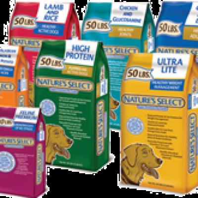 Nature's Select Natural Pet Food Freebie