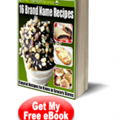 Brand Name Recipe eBook