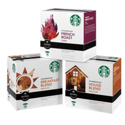 STARBUCKS K-CUP PACKS FREE COFFEE FOR A YEAR SWEEPSTAKES