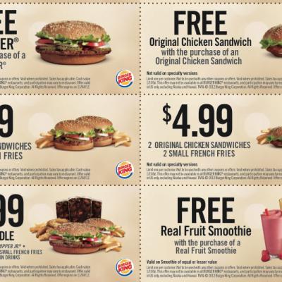 Burger King Coupons
