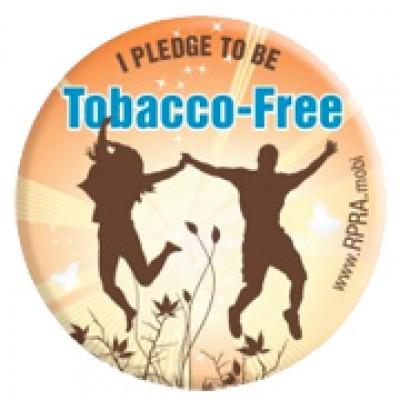 Free Tobacco-Free Pin or Magnet