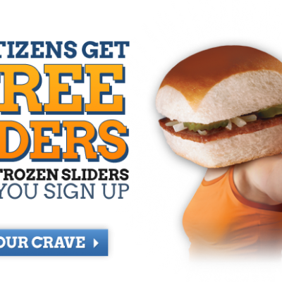 Two Free White Castle Sliders