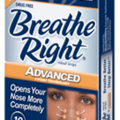 Breathe Right Strips Free Sample