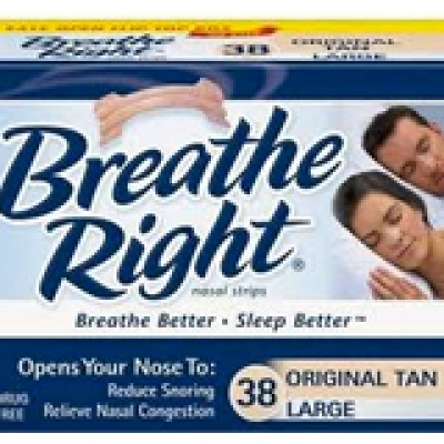 Free Sample of New Breathe Right Advanced Nasal Strips