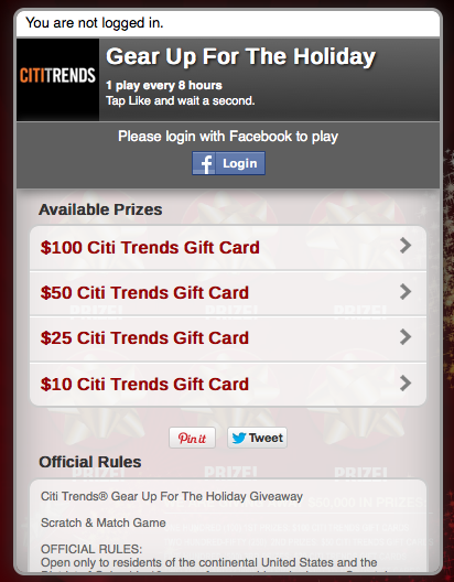 Citi trends coupons