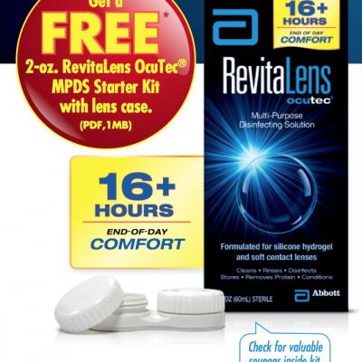 Free RevitaLens Starter Kit From Walmart