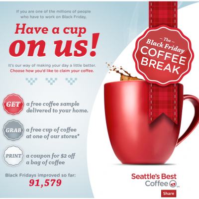 Free Sample of Seattle's Best Coffee & Coupon