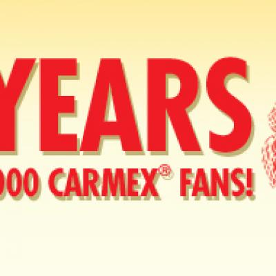 Carmex 75 Year Promotion
