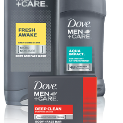 Free Dove + Men Care at Rite Aid After Coupons