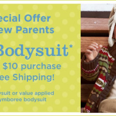 Gymboree: Free Bodysuit With $10 Purchase