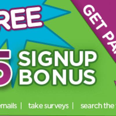 Inbox Dollars: $5 Bonus