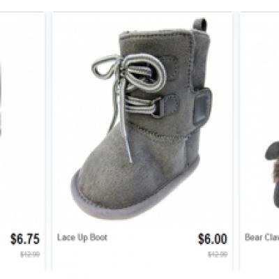 Infant Boots Under $7.00!