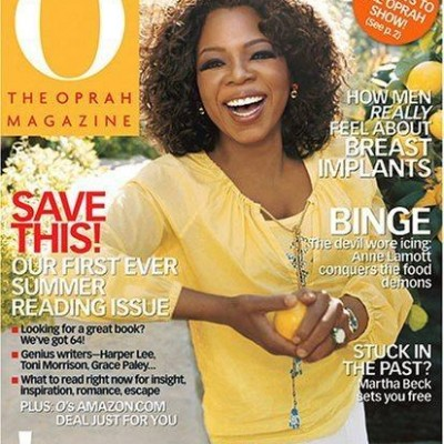 One Year Subscription Sale: The Oprah Magazine $4.99 (Reg $54.00)