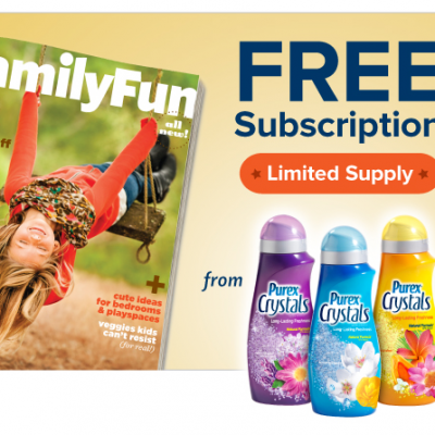 Win a Subscription To FamilyFun Magazine