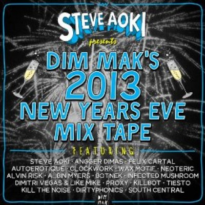 Free DJ Aoki Presents Dim Mak's 2013 New Years Eve Mix Tape