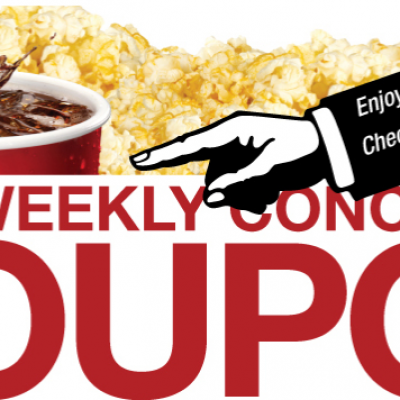 Cinemark: Free Medium Drink W/ Popcorn Purchase (2)