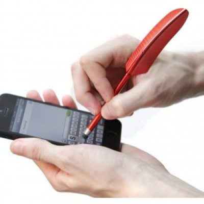 Free Feather Stylus for All Touchscreen Devices