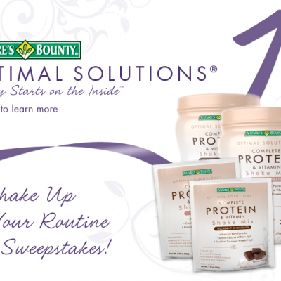 Nature's Bounty Shake Up Your Routine Sweepstakes