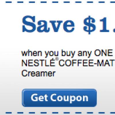 Nestle Coffee-Mate Coupon