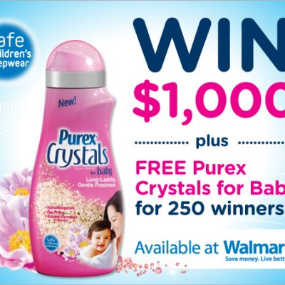 Purex: Welcome to the World Sweepstakes