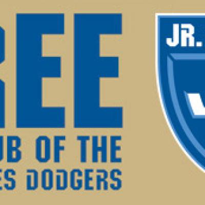 Free Jr. Dodgers Kids Club