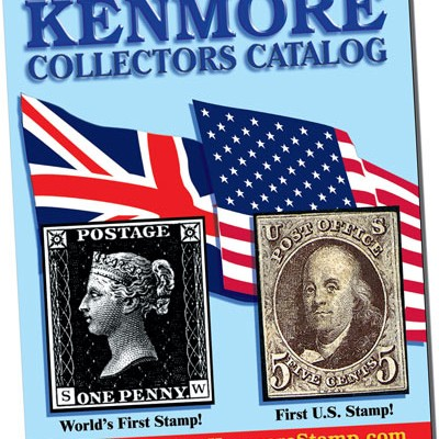 Free Kenmore Stamp Catalog + Stamps + $5 Gift Card