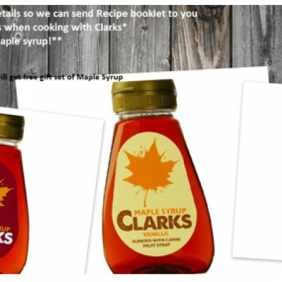 Free Clarks Recipe Booklet