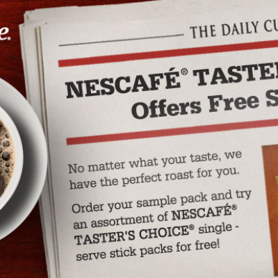 Free Nescafe Taster's Choice Samples