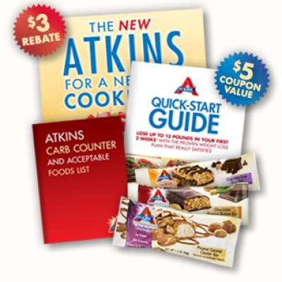 Free Atkins Quick Start Kit