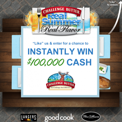 Challenge Butter Instant Win Game