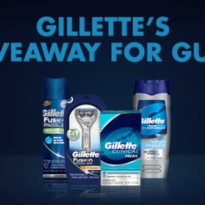 Gillette's Giveaway For Guys