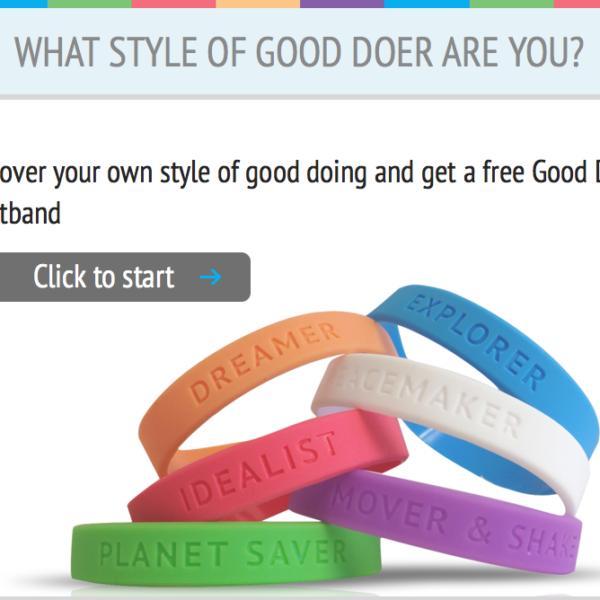 Free Good Doer Wristband