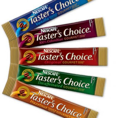 Nescafe Taster's Choice: 2 Free Samples!