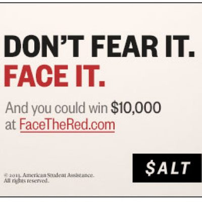 Attention Students: SALT Face The Red Sweepstakes