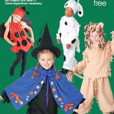 JoAnne Fabrics: Free No Sew Fleece Halloween Costume Guide