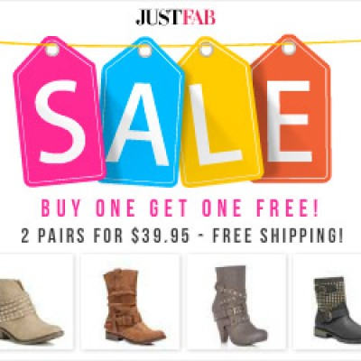 Just Fab: Two (2) Pairs Of Shoes Only $39.95 + Free Shipping