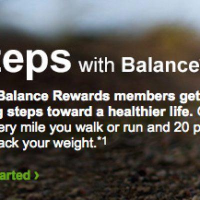 Walgreens: Steps With Balance Rewards Points