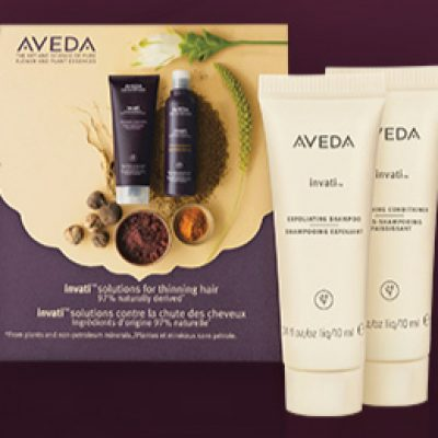 Aveda Invati: Free Birthday Product Samples