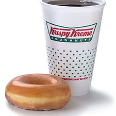 Krispy Kreme: Free Doughnut & Coffee On Your Birthday