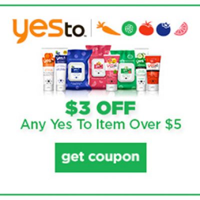 Yes To Product Coupon