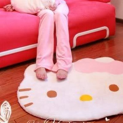 Hello Kitty Area Rug Just $11.19 + Free Shipping