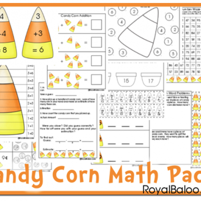 Free Candy Corn Math Pack Download