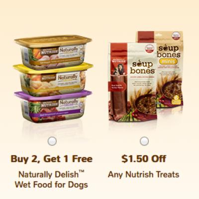Rachel Ray Pet Food Coupons