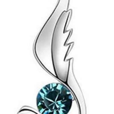 Angel Wing Pendant & Necklace: Just $5.50 + Free Shipping
