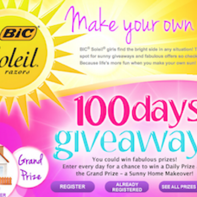 BIC: 100 Days Of Giveaways
